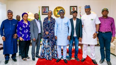 Photo of ABULE-ADO EXPLOSION COMMISERATION VISIT BY THE MINISTER OF HUMANITARIAN AFFAIRS, DISASTER MANAGEMENT & SOCIAL DEVELOPMENT TO THE STATE GOVERNMENT AT LAGOS HOUSE, MARINA, ON WEDNESDAY, MARCH 18, 2020