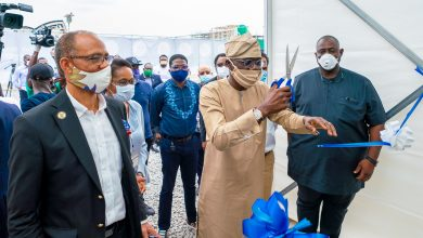 Photo of GOV. SANWO-OLU UNVEILS 80-BED ISOLATION CENTRE, TEN INTENSIVE CARE UNIT AT LANDMARK CONVENTION CENTRE, ONIRU ON WEDNESDAY, APRIL 22, 2020