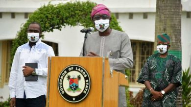 Photo of GOV. SANWO-OLU HELD STATEWIDE ADDRESS ON THE GRADUAL EASE OF LOCKDOWN AT LAGOS HOUSE, MARINA, ON SATURDAY, MAY 9, 2020