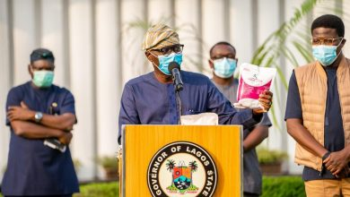 Photo of COVID-19 UPDATE BY GOVERNOR SANWO-OLU AT LAGOS HOUSE, MARINA, ON SATURDAY, AUGUST 29, 2020