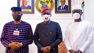Photo of GOV. SANWO-OLU RECEIVES MANAGEMENT TEAM OF FEDERAL HOUSING AUTHORITY LED BY THE MANAGING DIRECTOR/CEO, SENATOR GBENGA ASHAFA AT LAGOS HOUSE, ALAUSA, IKEJA, ON WEDNESDAY, SEPTEMBER 9, 2020