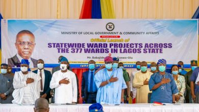 Photo of GOV. SANWO-OLU LAUNCHES STATEWIDE PROJECTS ACROSS THE 377 WARDS IN LAGOS, ON FRIDAY, SEPTEMBER 25, 2020