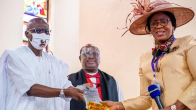 Photo of GOV. SANWO-OLU OPENS 2ND SESSION OF 34TH SYNOD OF THE DIOCESE OF LAGOS, CHURCH OF NIGERIA (ANGLICAN COMMUNION) ON MONDAY, SEPTEMBER 7, 2020