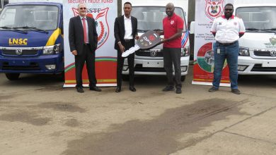 Photo of LSSTF Receives 5 Utility Trucks