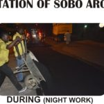 BRIEF REPORT ON THE ACTIVITIES OF LAGOS STATE PUBLIC WORKS CORPORATION FROM MONDAY DECEMBER 19TH – FRIDAY DECEMBER 23RD 2016