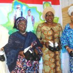 L-R: Chairman, House Committee on Education, Hon. Olarenwaju Ogunyemi; Deputy Governor of Lagos State, Dr. (Mrs.) Oluranti Adebule; Wife of the Governor, Mrs. Bolanle Ambode and APC Women Leader, South West, Chief (Mrs.) Kemi Nelson during the launching of Project Bright Steps, a Children Empowerment Project by Wife of the Governor & Founder of HOFOWEM at the Event Centre, Agidingbi, Ikeja