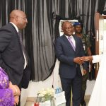 R-L: Lagos State Governor, Mr. Akinwunmi Ambode, with former Deputy Governor, Central Bank of Nigeria (CBN), Mr. Tunde Lemo;Chairman, West Africa, Rendeavour, Mr. Rotimi Oyekanmi and former Secretary to the State Government, Princess Aderenle Ognsanya during the Launching of the maiden edition of an Educative TV series: Lagos Global on TV at the Banquet Hall, Lagos House, Ikeja, on Thursday, November 3, 2016.