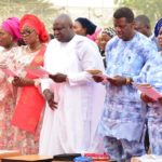 GOV. AMBODE, FIRST LADY, PASTOR ADEBOYE AT Y2017 ANNUAL THANKSGIVING SERVICE AT LAGOS HOUSE, IKEJA