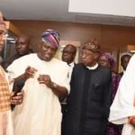 GOV. AMBODE AT PRESENTATION OF MUSEUM POSSIBILITIES AT EKO HOTELS AND SUITES, VICTORIA ISLAND