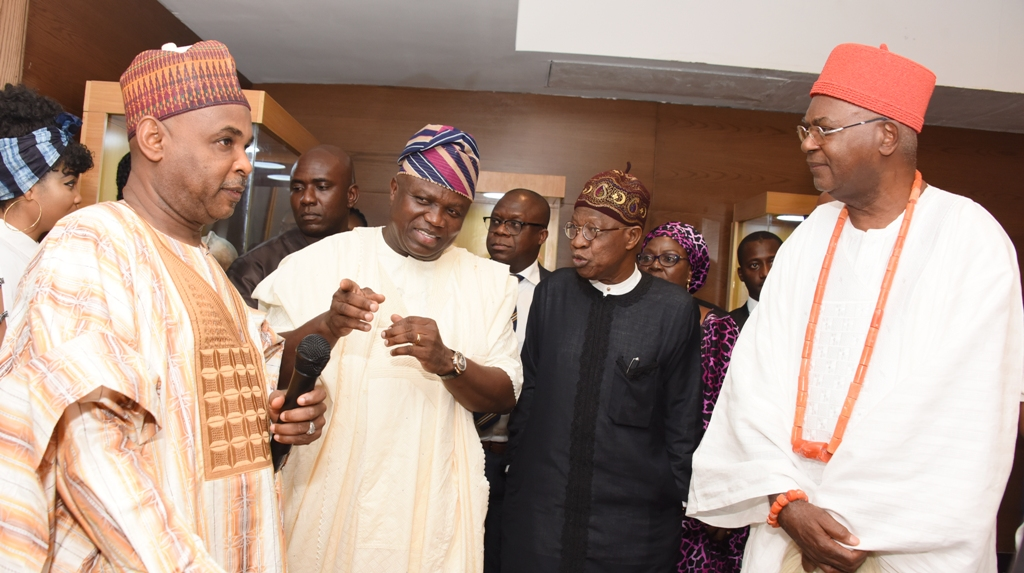 Photo of GOV. AMBODE AT PRESENTATION OF MUSEUM POSSIBILITIES AT EKO HOTELS AND SUITES, VICTORIA ISLAND