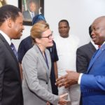 GOV. AMBODE RECEIVES BRITISH DEPUTY HIGH COMMISSIONER, LAURE BEAUFILS AT LAGOS HOUSE, IKEJA