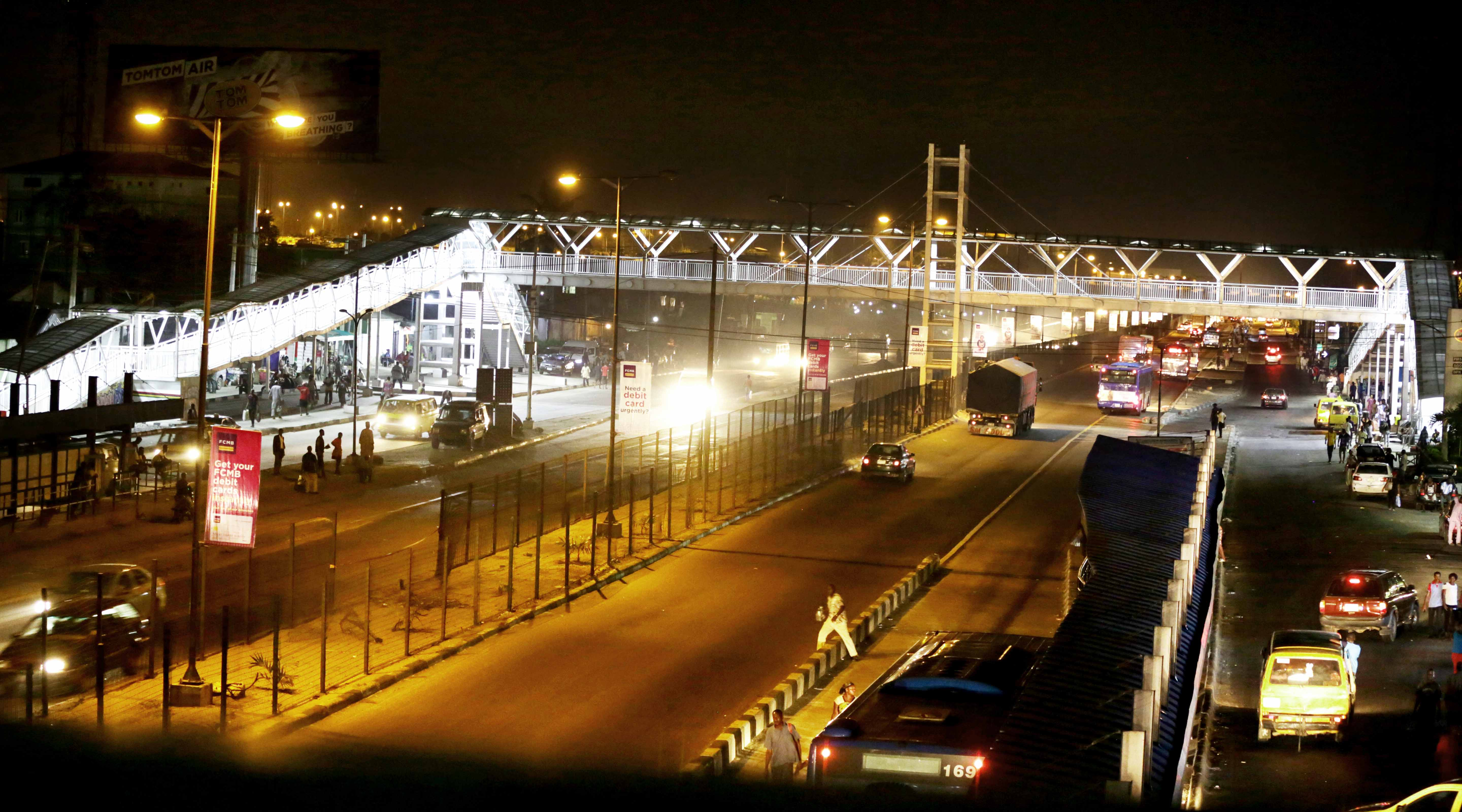Photo of NEWLY BUILT PEDESTRIAN BRIDGE AT OJOTA BY LAGOS STATE GOVERNMENT