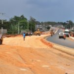 Ongoing  construction of  Ijebu Road, Epe being built by the Lagos State Government.