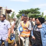 INSPECTION TOUR OF ON-GOING CONSTRUCTION OF NEW MODEL COLLEGES IN LAGOS STATE