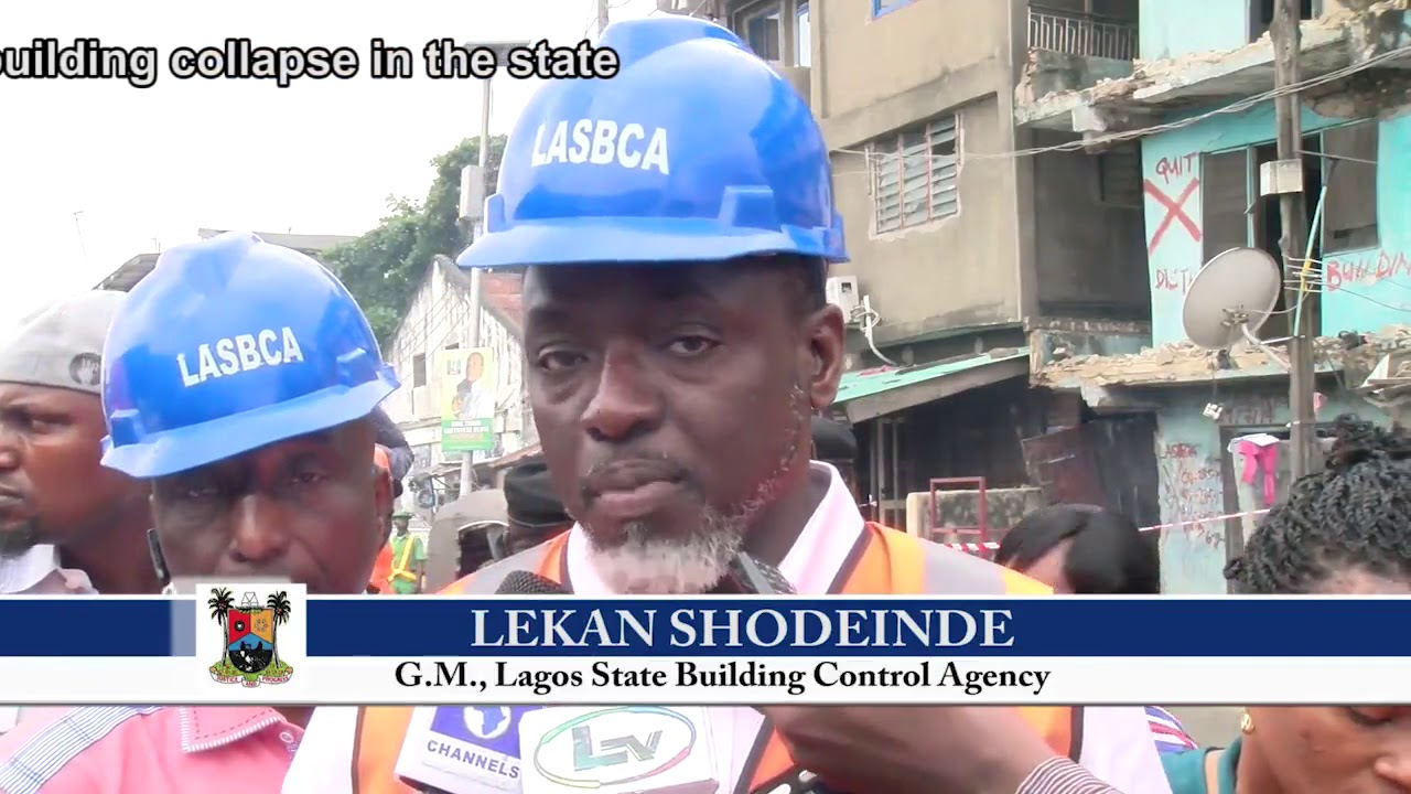 Photo of LASG IS COMMITTED TO ERADICATING BUILDING COLLAPSE IN THE STATE