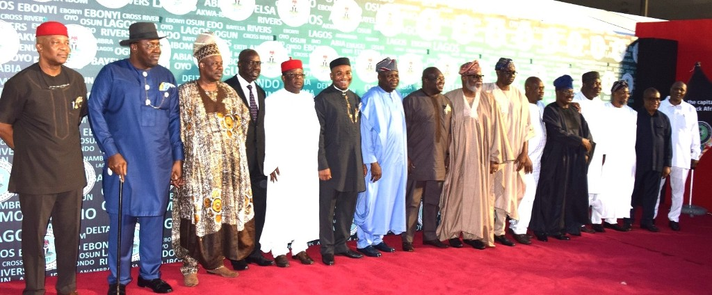 Photo of GOV. AMBODE, 12 OTHER GOVS AND 3 DEPUTIES ATTEND SOUTHERN GOVERNORS' SUMMIT AT LAGOS HOUSE, IKEJA