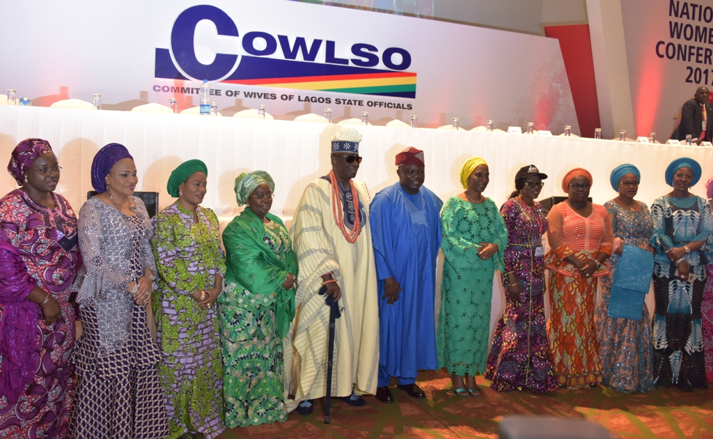 Photo of GOVS. AMBODE, UDOM, OBASEKI, DICKSON, FAYOSE AND OSINBAJO'S WIFE ATTEND OPENING CEREMONY OF THE 17TH ANNUAL NATIONAL WOMEN'S CONFERENCE BY COWLSO AT EKO HOTEL AND SUITES, VICTORIA ISLAND