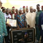 GOV. AMBODE ATTENDS 8TH TRADESMEN AND ARTISANS WEEK AND GRADUATION CEREMONY FOR RE-TRAINED ARTISANS AND TRADERS AT AGIDINGBI, IKEJA