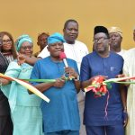 GOV. AMBODE OFFICIALLY COMMISSIONS UPGRADED BAGAUDA KALTHO PRESS CENTRE, ALAUSA
