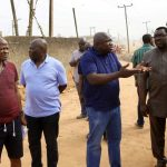 GOV. AMBODE INSPECTS ONGOING PROJECTS IN EPE