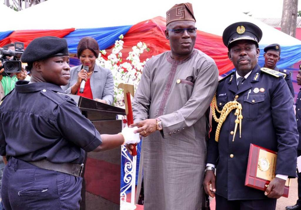 Photo of LASG INDUCTS NEWLY RECRUITED FIREFIGHTERS