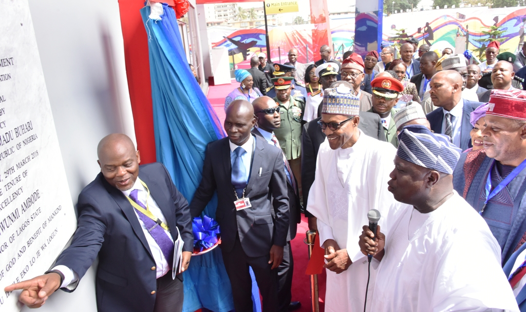 Photo of PRESIDENT BUHARI COMMISSIONS IKEJA BUS TERMINAL BUILT BY LAGOS STATE GOVERNMENT