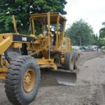 ONGOING CONSTRUCTION OF OJOMU/RUXTON ROAD, ETI -OSA BY LAGOS STATE PUBLIC WORKS CORPORATION