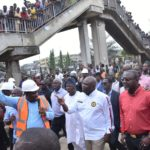 GOV. AMBODE INSPECTS ON-GOING PROJECTS ACROSS THE STATE