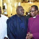 AMBODE, OBASEKI, OTHERS CELEBRATE RETIRING CLERGY, ADEMOWO AT 70