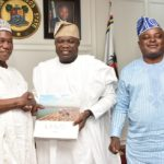 GOV. AMBODE RECEIVES CONFERENCE OF SPEAKERS OF STATE HOUSES OF ASSEMBLY, HOSTS DINNER AT LAGOS HOUSE, ALAUSA, IKEJA… ON FRIDAY