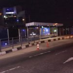 NEW BUS SHELTER BUILT BY THE LAGOS STATE GOVERNMENT.