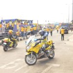 ROAD SHOW/AWARENESS CAMPAIGN ON LAGOS STATE EMERGENCY TOLL-FREE LINE 767/112 BY LASEMA