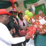 LASG PRESENTS GIFT ITEMS TO HOSPITAL PATIENTS