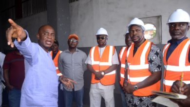 Photo of A FACILITY TOUR OF THE SIMPSON TRANSFER LOADING STATION (TLS), SURA, LAGOS ISLAND, RECENTLY BY LAGOS STATE HOUSE OF ASSEMBLY AD-HOC COMMITTEE ON ENVIRONMENTAL DEGRADATION