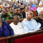GOV. SANWO-OLU, OTHER SOUTH WESTERN GOVERNORS PAY CONDOLENCE VISIT TO PA FASORANTI, ATTENDS FUNERAL SERVICE OF LATE DAUGHTER IN ONDO STATE ON MONDAY, JULY 22, 2019