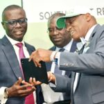 GOV. SANWO-OLU AT SOUTH-WEST REGIONAL FLAG OFF CEREMONY OF NEW NATIONAL TAXPAYERS IDENTIFICATION NUMBER AT CIVIC CENTRE, V.I. LAGOS, ON THURSDAY, JULY 18, 2019