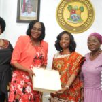 FIRST LADY OF LAGOS STATE, DR. (MRS) IBIJOKE SANWO-OLU RECEIVES SENIOR OFFICIALS OF THE STATE MINISTRY OF WOMEN AFFAIRS AND POVERTY ALLEVIATION