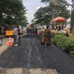 Repair of failed section of CMD road, Kosofe LGA.