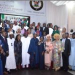 SANWO-OLU INAUGURATES CABINET, CHARGES MEMBERS ON SERVICE DELIVERY