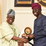 GOV. SANWO-OLU RECEIVES BOARD OF TRUSTEES AND EXECUTIVE COMMITTEE OF ASSOCIATION OF LAGOS STATE RETIRED HEADS OF SERVICE AND PERM SECs (ALAHOSPS) AT LAGOS HOUSE, IKEJA