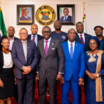 GOV SANWO-OLU RECEIVES SOUTH AFRICAN CONSUL- GENERAL AT LAGOS HOUSE, ALAUSA, ON THURSDAY, AUGUST 1st, 2019