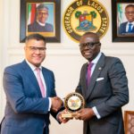 GOV. SANWO-OLU RECEIVES UK MINISTER OF STATE FOR INTERNATIONAL DEVELOPMENT, ALOK SHARMA AT LAGOS HOUSE, ALAUSA, IKEJA ON THURSDAY, AUGUST 1, 2019