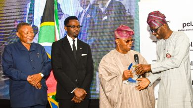 Photo of GOV. SANWO-OLU ATTENDS NIGERIA-SOUTH AFRICA CHAMBER OF COMMERCE BREAKFAST FORUM AT EKO HOTEL AND SUITES, VICTORIA ISLAND ON THURSDAY, OCTOBER 31, 2019