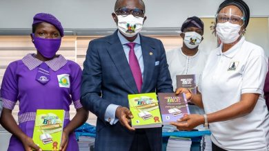 Photo of GOV. SANWO-OLU ATTENDS PRESENTATION OF 10,000 SPELLING BEE DICTIONARIES TO MINISTRY OF EDUCATION BY NEW ERA FOUNDATION AT LAGOS HOUSE, IKEJA, ON WEDNESDAY, JULY 29, 2020