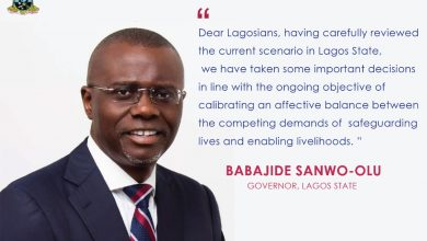 Photo of COVID-19 : Measures taken by the Lagos State Government to further relax the lockdown.