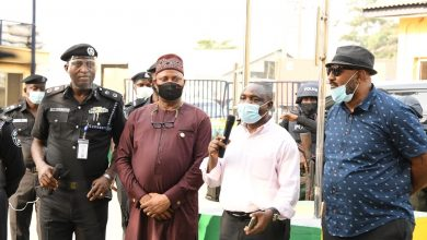 Photo of LASG TASK FORCE TEAM ON AN ASSESSMENT OF THE TRAFFIC SITUATION IN THE APAPA CORRIDOR ON MONDAY, MARCH 1, 2021.