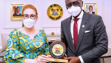 Photo of GOV. SANWO-OLU RECEIVES JOANNA TARNAWSKA, AMBASSADOR EXTRAORDINARY AND PLENIPOTENTIARY OF THE REPUBLIC OF POLAND TO NIGERIA AT LAGOS HOUSE, IKEJA, ON TUESDAY, MARCH 2, 2021