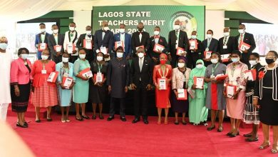 Photo of GOV. SANWO-OLU PRESENTS CAR GIFTS TO 13 OUTSTANDING TEACHERS AT THE LAGOS STATE TEACHERS MERIT AWARD 2020, ON TUESDAY, MARCH 30, 2021