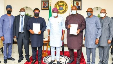 Photo of GOV. SANWO-OLU ATTENDS SIGNING OF MoU FOR PROVISION OF RELIABLE ELECTRIC POWER SUPPLY IN IBEJU LEKKI AND OTHER PARTS OF EKEDC COVERAGE AREAS, AT LAGOS HOUSE, MARINA, ON TUESDAY, MAY 25, 2021
