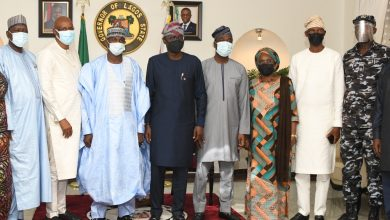 Photo of GOV. SANWO-OLU RECEIVES MANAGEMENT OF THE NIGERIA POLICE TRUST FUND (NPTF) LED BY THE EXECUTIVE SECRETARY, HON. AHMED ALIYU SOKOTO, IN A COURTESY VISIT AT LAGOS HOUSE, MARINA, ON FRIDAY, JUNE 18, 2021.